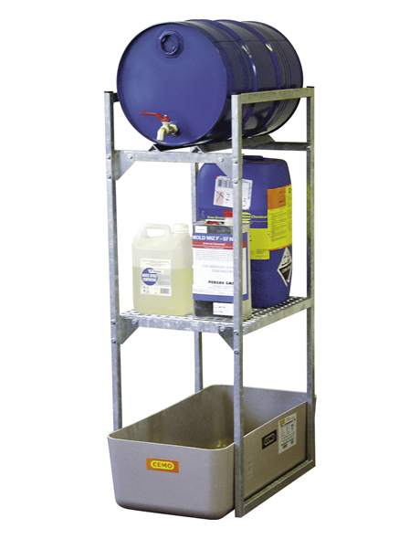 drum-rack-with-drum-and-grating-support-for-small-containers