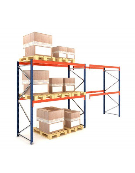 pallet-racking-2levels-2300