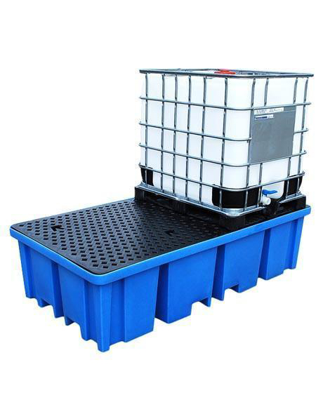 polyethylene-sump-pallets-2-x-1000ltr-with-mesh-deck