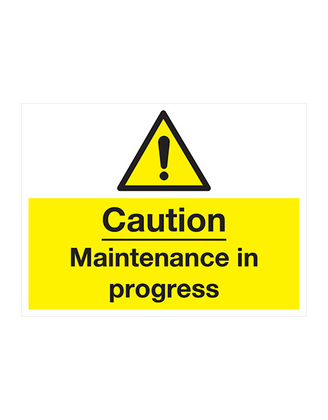 safety-sign-hazard-maintenance-in-progress