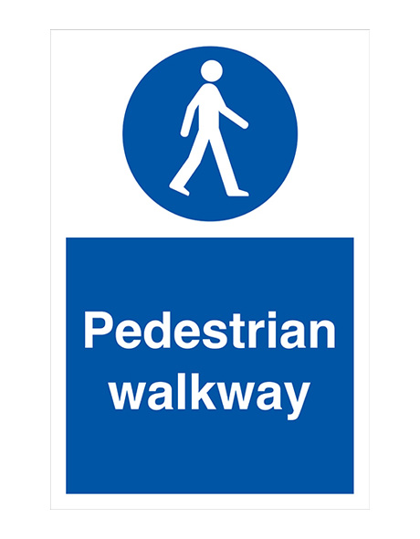 safety-sign-mandatory-pedestrian-walkway