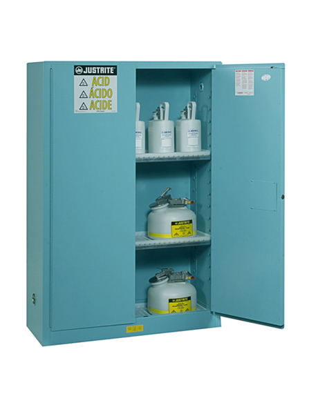 steel-classic-safety-cabinet-170l-for-corrosives-2-door-manual