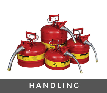 chemical handling range