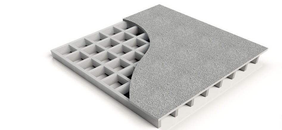 Fiberglass Covered Grating