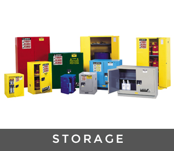 hazardous storage range